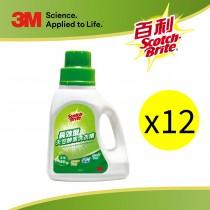 【特殺價】3M 長效型天然酵素洗衣精-沐浴清新香氛500ml X12 (結帳時輸入折扣碼SUN090折運費90)