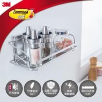 3M 無痕 304不鏽鋼 金屬防水收納系列  調味品架