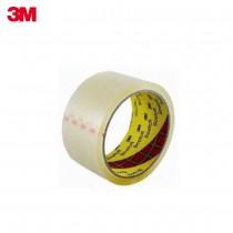 3M Scotch 透明封箱膠帶3010-48mm*90YD (單個膠帶)