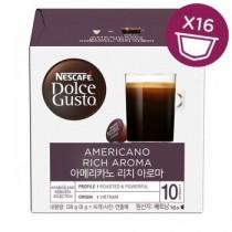 雀巢 Dolce Gusto 美式經典濃郁咖啡膠囊16顆/盒(單盒)