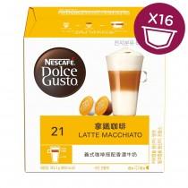雀巢 Dolce Gusto 拿鐵咖啡膠囊16顆/盒(單盒)