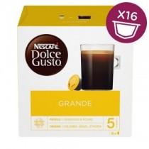 雀巢 Dolce Gusto 美式醇郁濃滑咖啡膠囊 16顆/盒 (單盒)