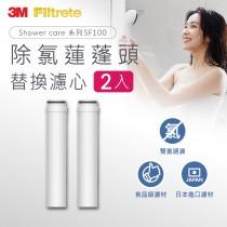 ShowerCare除氯蓮蓬頭替換濾心(二心)