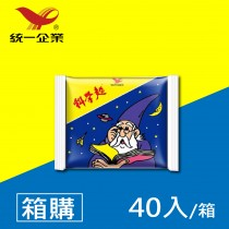 【統一食品】原味科學麵40入/箱  - 箱購 超取限一箱