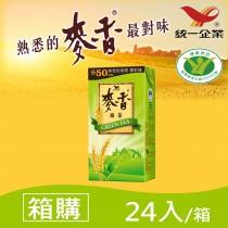 【統一】麥香綠茶 300ml(24入/箱)  - 箱購   超取限一箱