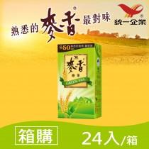 【統一食品】麥香綠茶 300ml(24入/箱)  - 箱購    (請選宅配運送)