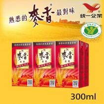 【統一】麥香紅茶 300ml  6入