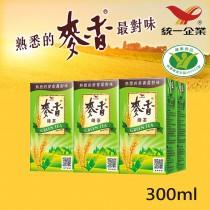 【統一】麥香綠茶 300ml 6入