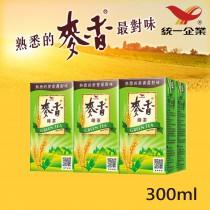 【統一食品】麥香綠茶 300ml 6入