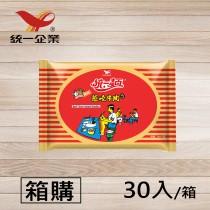 【統一食品】統一麵-蔥燒牛肉風味 30入/箱 (袋裝)- 箱購 超取限一箱