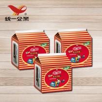 【統一食品】統一麵-蔥燒牛肉風味3袋 (內含15包)