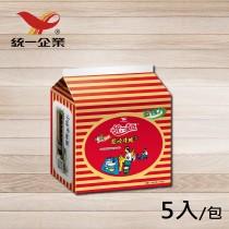 【統一食品】統一麵-蔥燒牛肉風味1袋 (內含5包)
