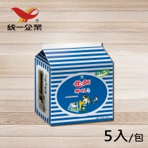 【統一食品】統一麵-鮮蝦風味1袋 (內含5包)