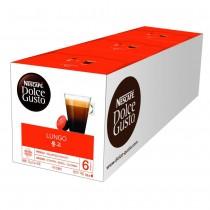 雀巢 Dolce Gusto 美式濃黑咖啡膠囊(3盒)
